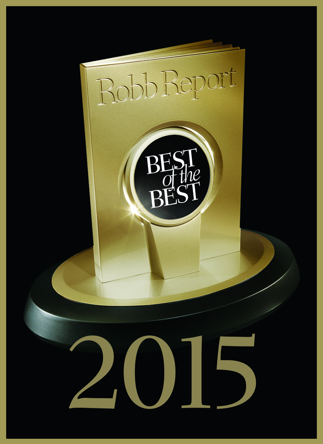 "ROBB REPORT - Guide 2015 ""Best of the Best"""