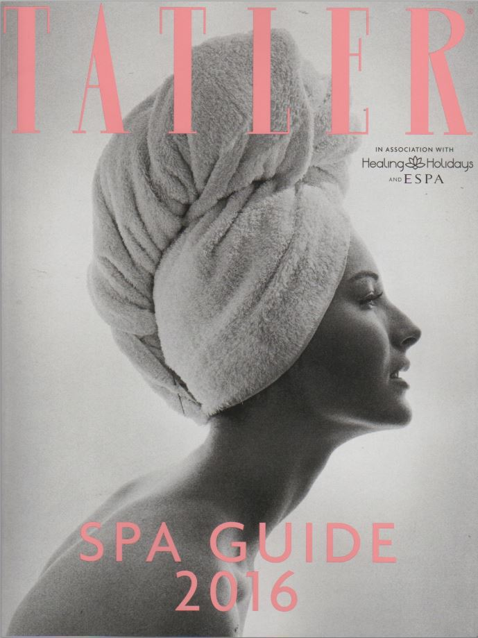 TATLER Spa Guide 2016 - Best for recharging