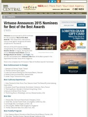150622_Travel Agent Central_Virtuoso Announces 2015 Nominees for Best of the Best Awards_cover