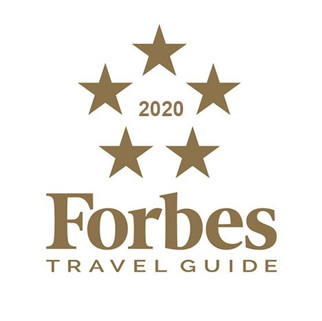 "2020 Forbes Travel Guide - ""Five-Star Hotel Award"""